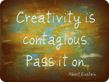 creativity is contagius